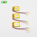 Rechargeable 3.7V small li-ion lipo polymer battery 401520 3.6v 90mAh for wearable device