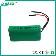 nimh rechargeable batteries for 6v 1200mah ni-mh battery pack