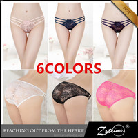 2015 New Style Fashion Sexy Lace Ladies Panty Brand Names