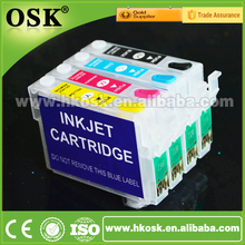 T0731 T0732 T0733 T0734 ink Cartriges for Epson CX7300 CX8300 CX7300 Refill ink cartridge with Auto Reset Chip