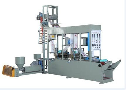 rotogravure printing plastic film blowing and moulding machine
