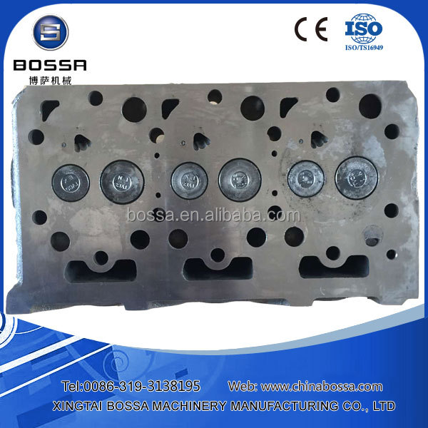 d1503 kubota cylinder head for crank mechanism