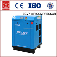 ECV7 mini silent frequency stationary screw air compressor