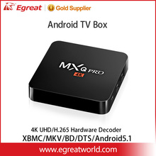 MXQ Pro 64bit Amlogic S905 made in china smart tv box with keyboard