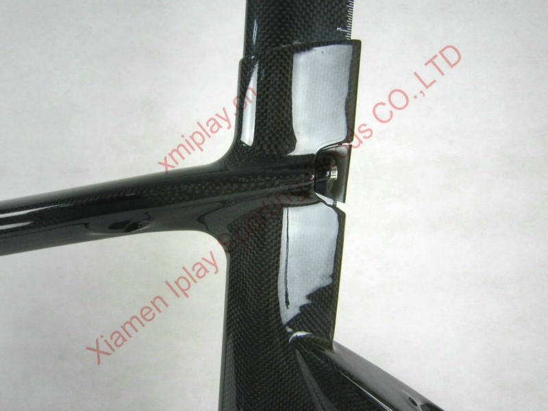 Hot sale! Super light road frame carbon bicycle, tt frame aero