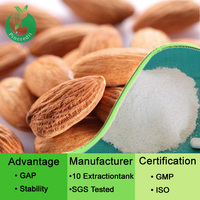 GMP Factory Supply Best Extract Bitter Almond Extract Amygdalin Powder