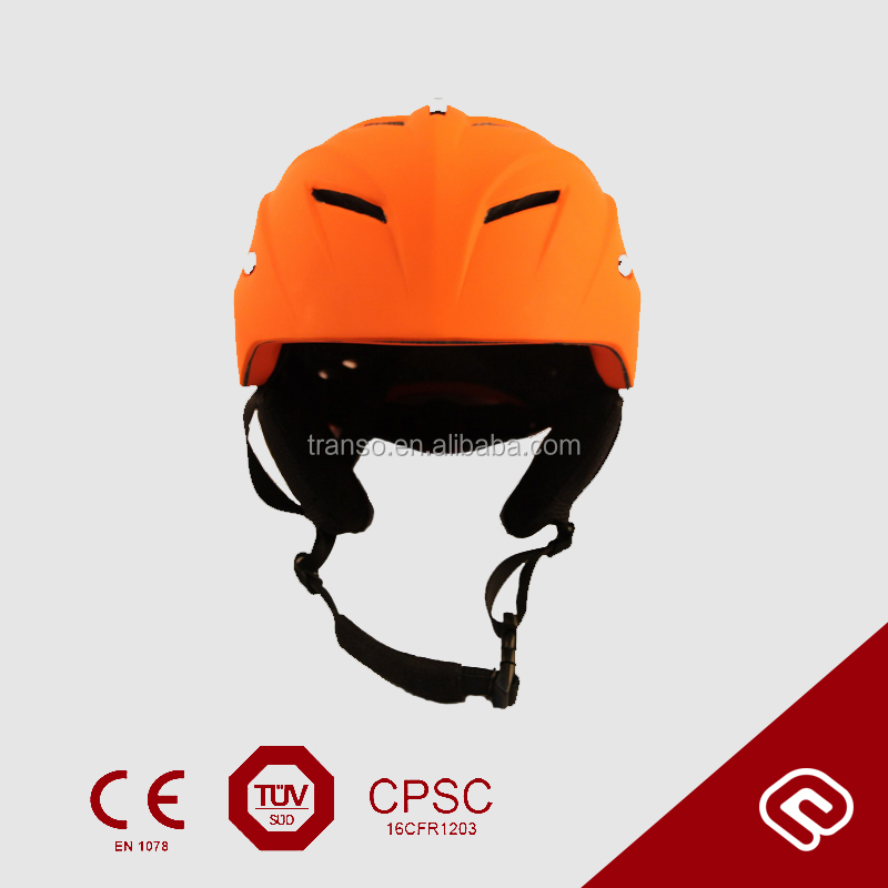 in mould PC snow helmet ski helmet with visor