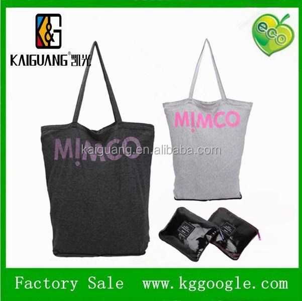 Kids Wholesale 600D Polyester Fashion Folding Shopping Bag,Custom Tote Bag PVC canvas foldable bag with zipper