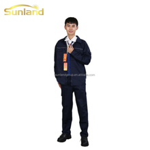 anti-static blended fabric protective clothing for gas station workers