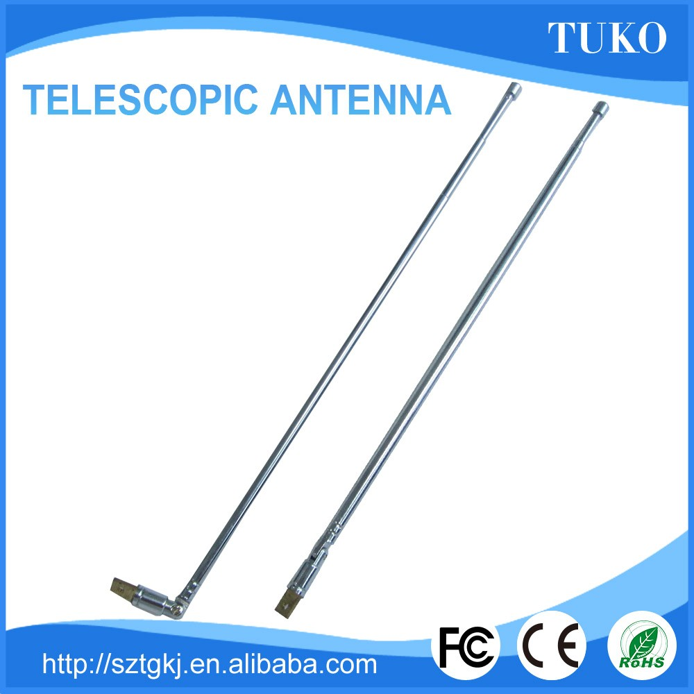 Am telescopic antenna fm radio antenna for TV/radio