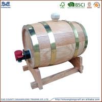 hot sale used oak whiskey/wine/beer barrels for sale
