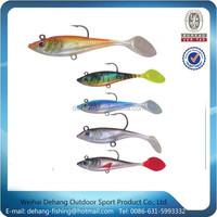 2015 Most Popular Fishing Tackle Soft Plastic Fishinglure Wholesale Artificial Soft Bait