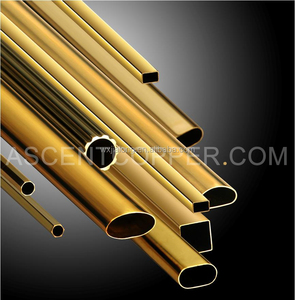 Brass Tube For Hardware Sanitary Ware Musical Instruments Heat Exchanger
