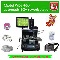 High recommend automatic estacion de soldadura laptop WDS-650 bga chipset repair tools maquinas para rebaling