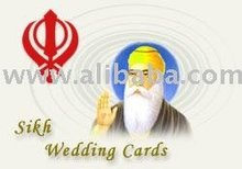 Sikh / Punjabi Wedding Cards