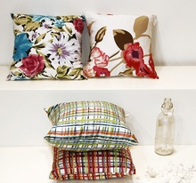 Factory Made Colorful Series Printing Pillow& Cushion Cover