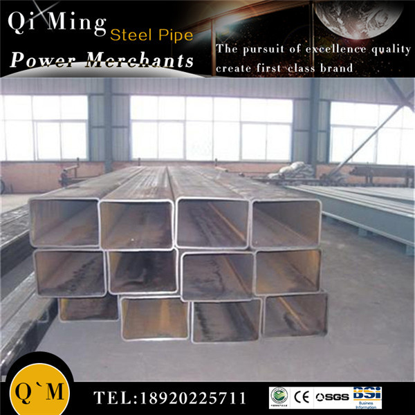 black square pipe supplier/square pipe railing/manufacturing company