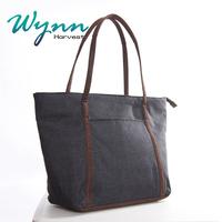 wholesale jute material women's hand bag