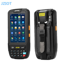 Mobile 5 inch big screen touch screen rfid data collector wifi 3g/4g gps android handheld pda printer with 1d 2d