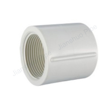 UPVC BS thread water system connection pipe fitting female quick coupling