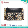 2016 Hot Sale A three-piece portfolio cosmetic bag and Leopard Cosmetic Bag With Zipper