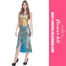 Cheap Factory Price Halloween Women Sexy Adult Mermaid Costume