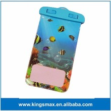 2016 Factory Wholesale Waterproof Phone Bag / Sea Swimming PVC Protective Case for Samsung S4