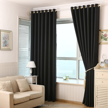 simple curtain design fireproof used hotel curtains
