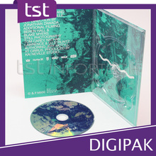 Packaging & Printing DVD digipack with Plastic Disc Holder