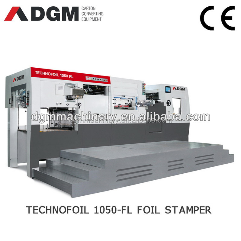 TECHNOFOIL 1050 FL Automatic Holographic Hot Foil Stamping and Die cutting machine