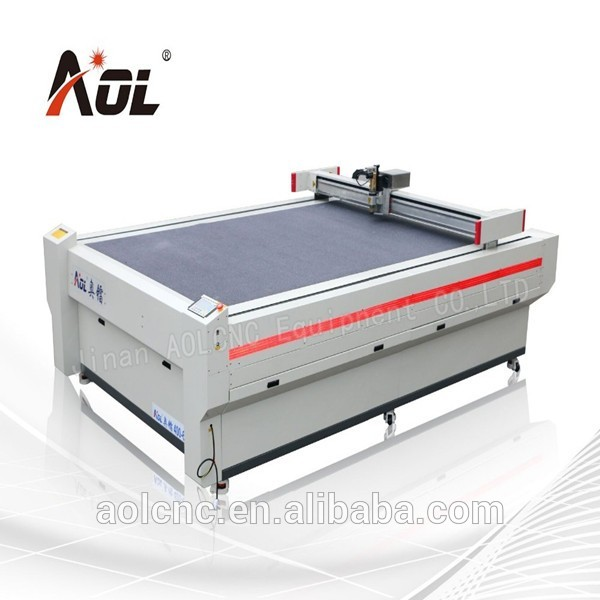 AOL oscillating cutting machine round knife cloth cutting machine