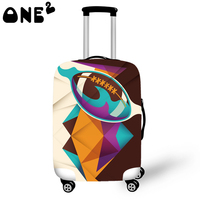 ONE2 Design fashion suitcase parts cheap luggage covers