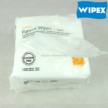 2015 eco-friendly best quality most absorbent patient dry wipes