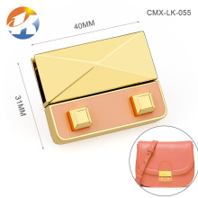 Custom Metal Gold Fashion Locks For Handbags