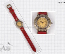 Old Style ladies leather wrist watches