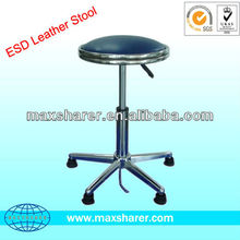 Cleanroom ESD Leather Lab Stool B0313