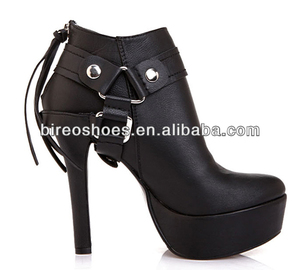 2014 New Style Ladies Fashion Style High Heel Shoes (Style No.2600)