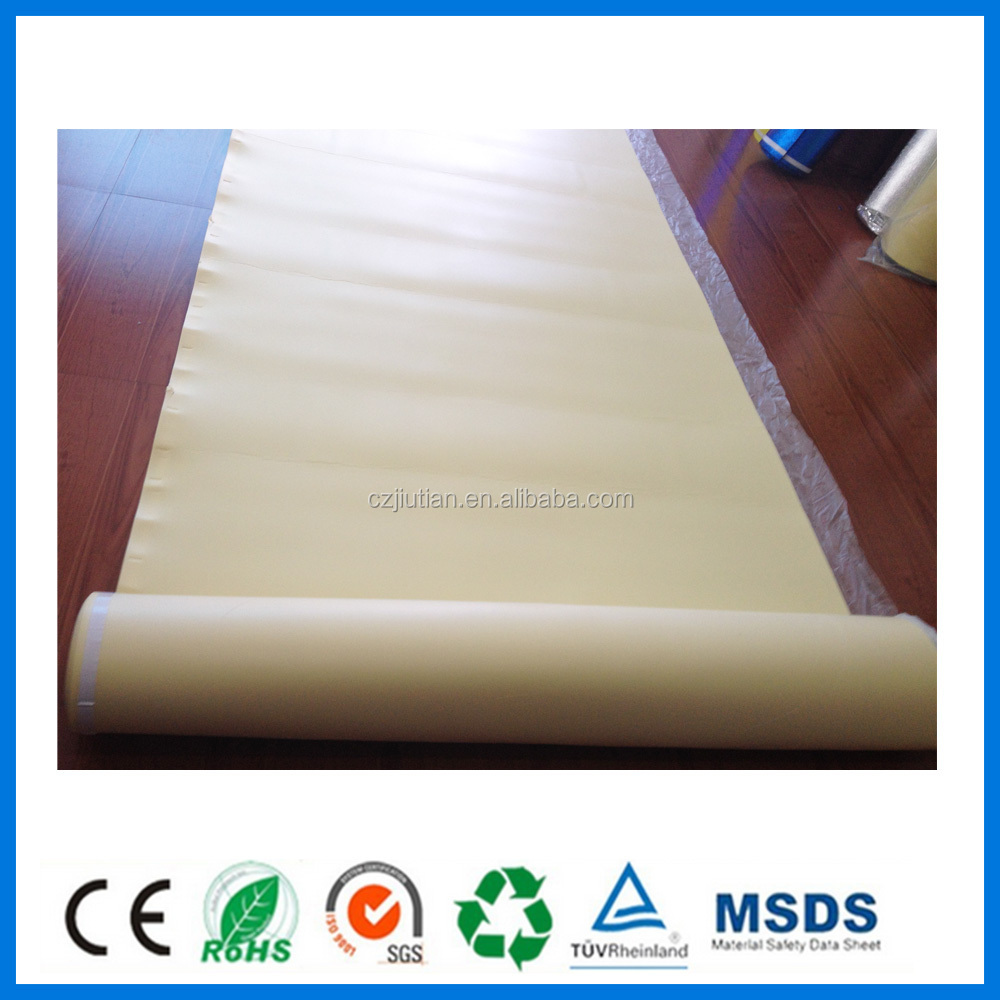 IXPE Flooring Foil Underlay With PE Film For Heating System