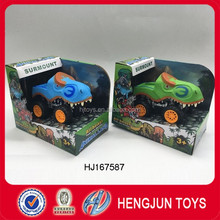 promotion toy plastic Inertia dinosaurs car toys