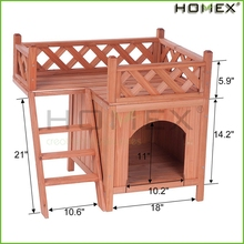 Corking wooden pet house/wooden pet dog cage/bed for dog/HOMEX