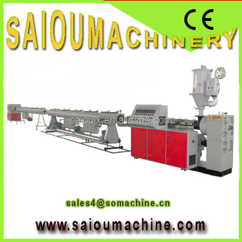 Pipe Making Machinery LDPE PP PE pipe extrusion Line