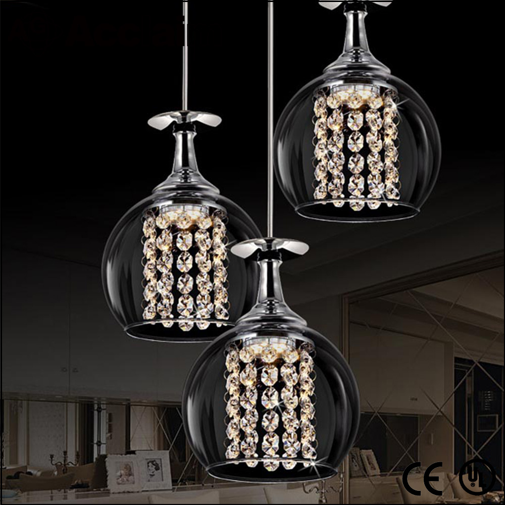 High Brightness ceiling light crystal chandelier parts glass beads for droplight