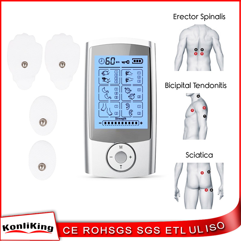 Magic effective Body relaxing tens unit electronic pulse massager