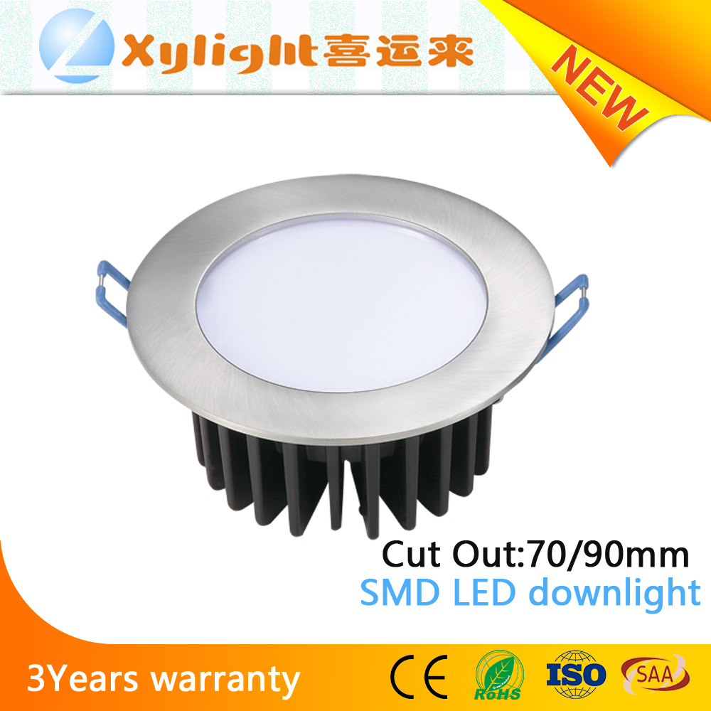 New design 15W Dimmable COB LED Downlight kit With SAA approval