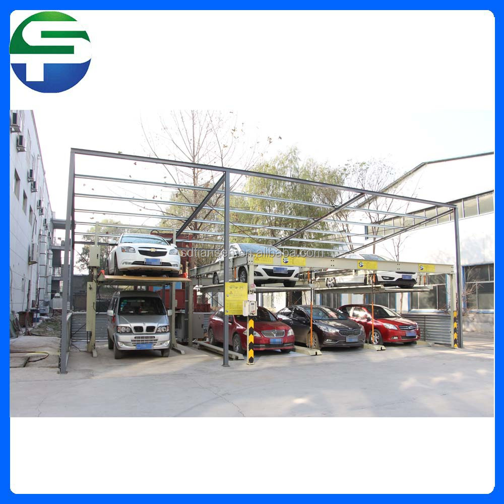 PSH two layer puzzle classical mechanical car parking system for sale