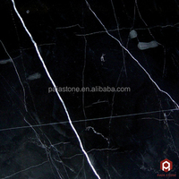 Black Marquina Nero Marquina marble big slab polished China with white veins Nero Marquina marble