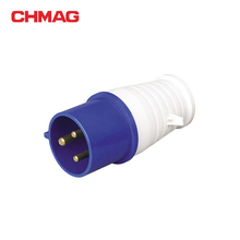 IECCEE IP44 023 32A portable plug socket connector 3poles 3pin 013 3P 220-240V 16a industrial plug socket