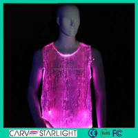 Latest designs for men light up glow-in-the-dark shirt