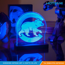 Illuminated LED Sign Acrylic Display Base