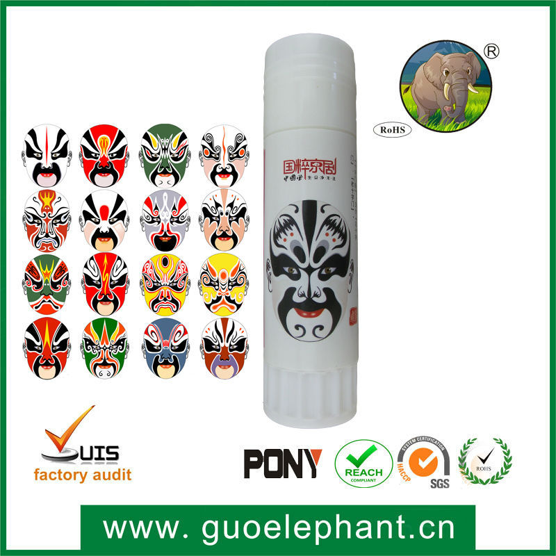 Guo- elephant Stationery items manufacturer wholesale PVP glue stick